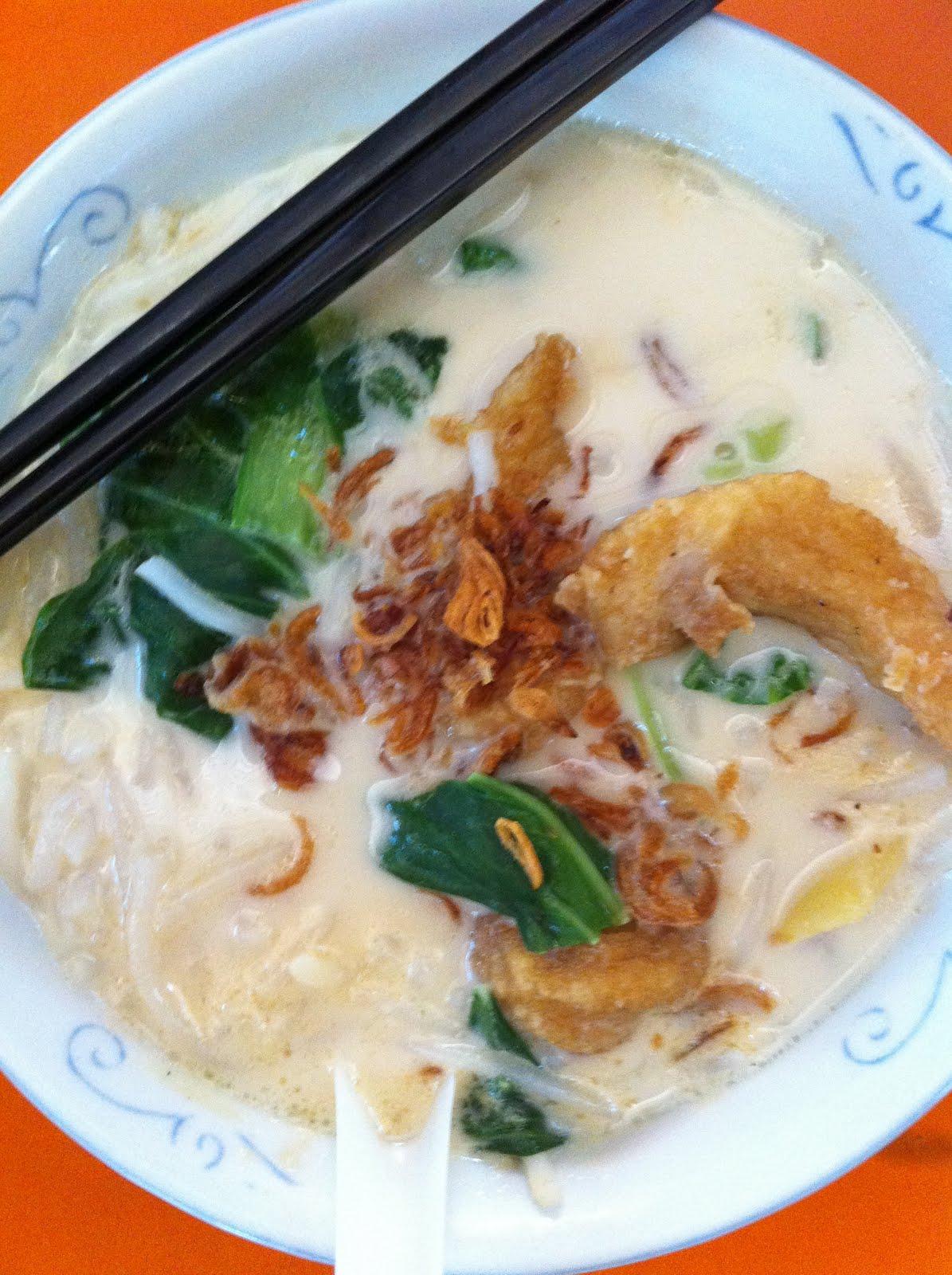 Kim Huat Fish Soup Maxwell Market Rubbish Eat Rubbish Grow