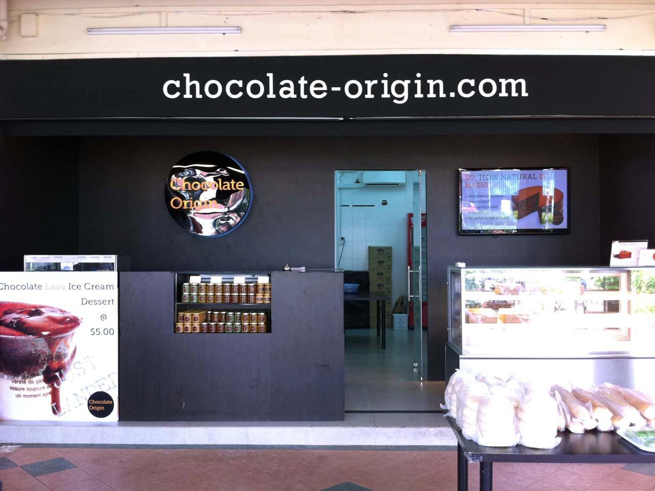 Chocolate Origin Cake Halal