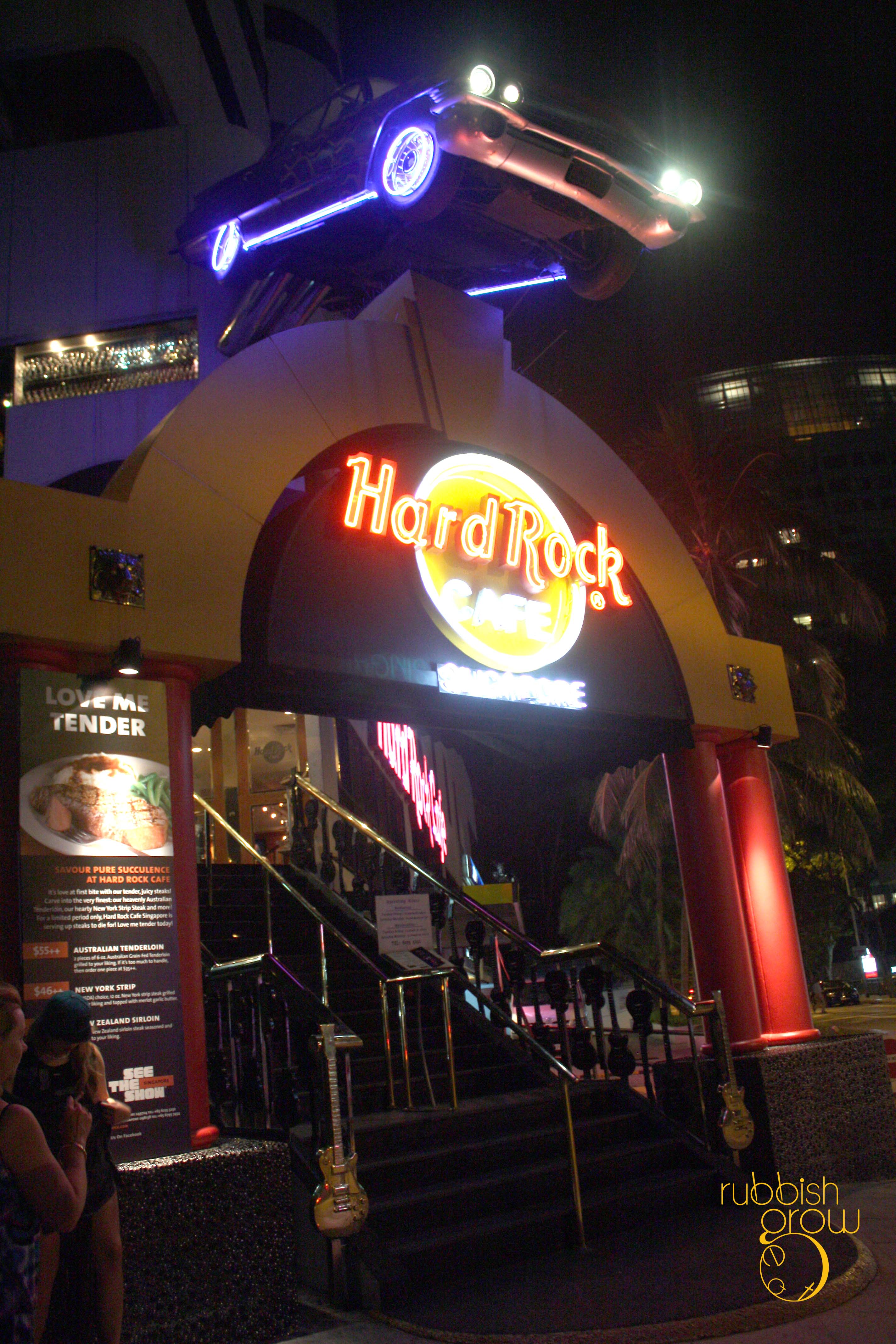 Hard Rock Cafe T Shirt Singapore