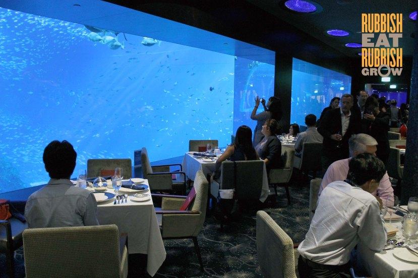 Ocean Restaurant RWS Singapore