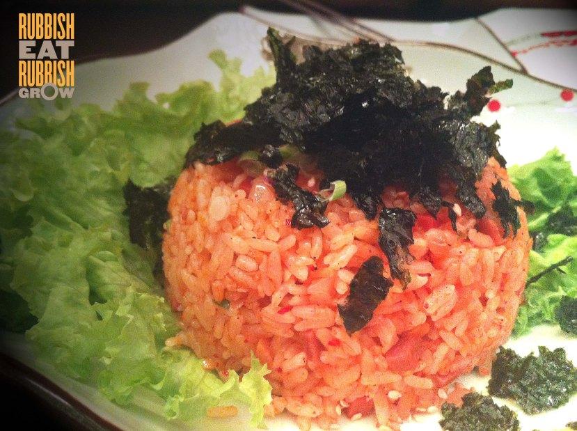 kim chi rice