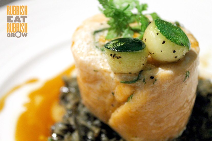 Salmon Roulade Confit