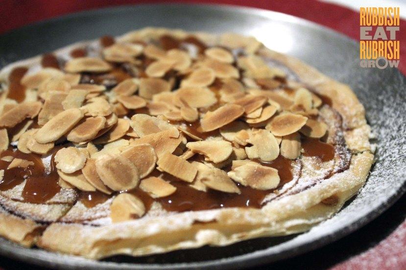 flat apple tart