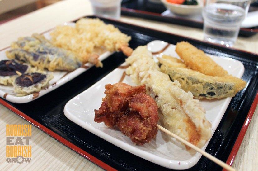 tempura and kaarage