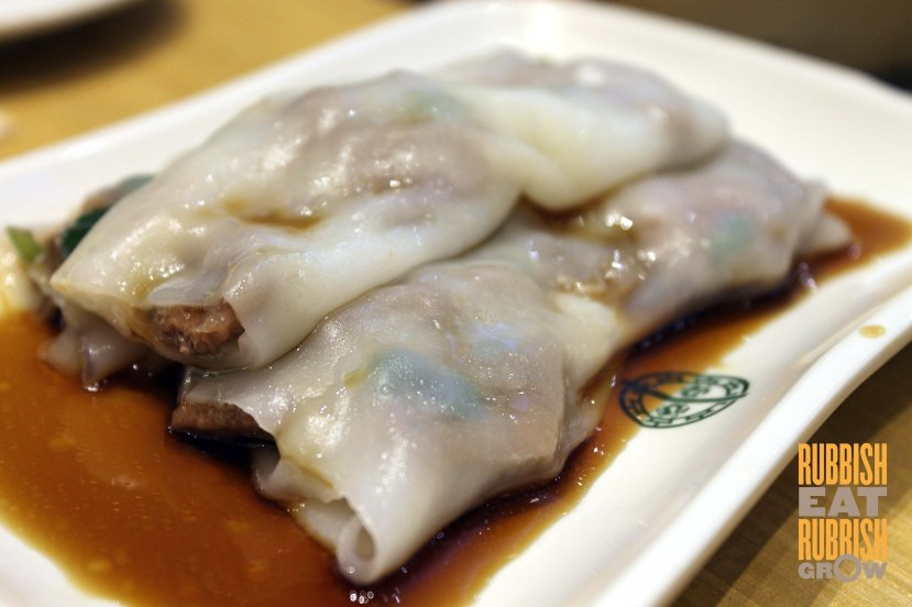 vermicelli roll with pig's liver 黄沙猪润肠