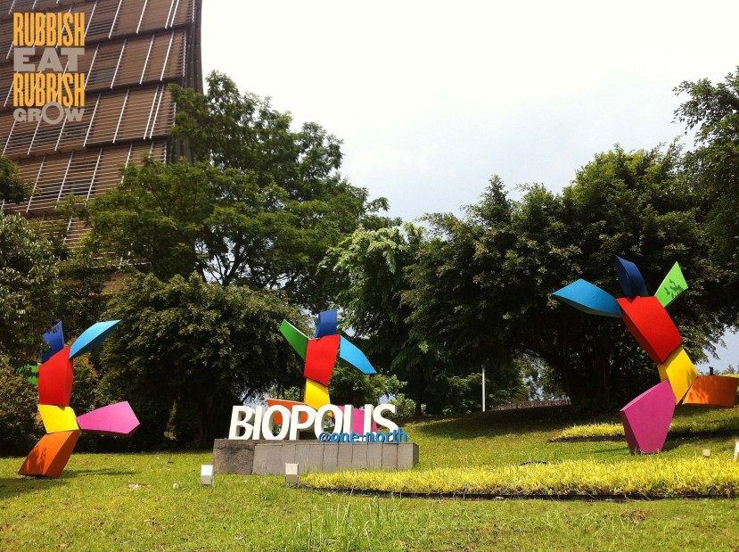 biopolis the lawn