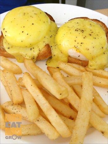fabulous baker boy - eggs benedict