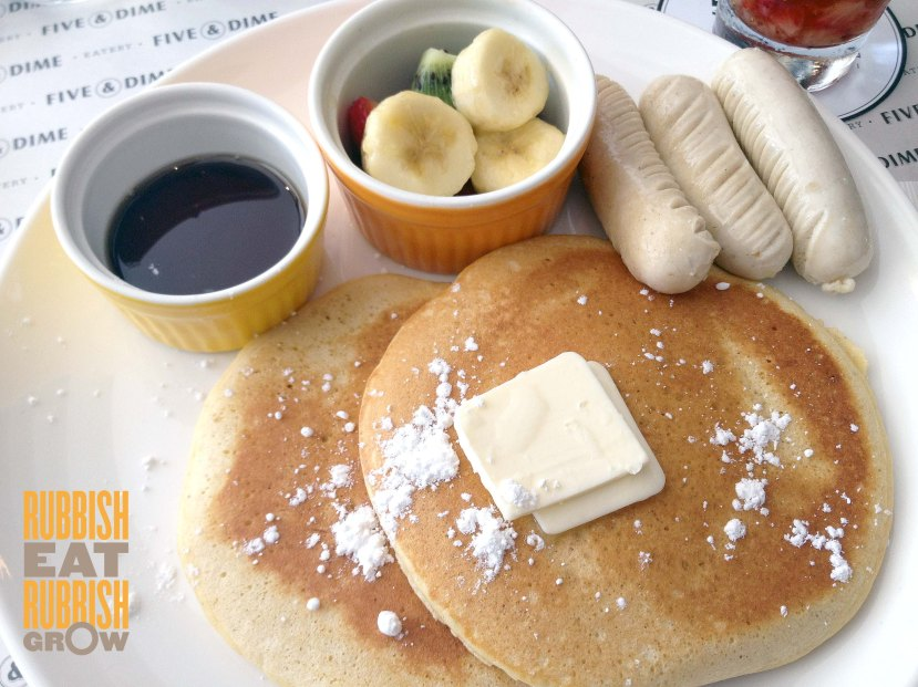 five and dime - pancakes