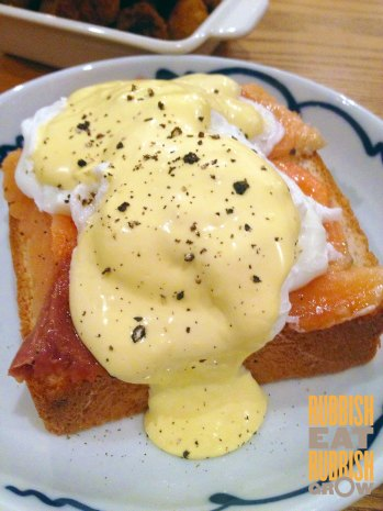 group therapy - poached eggs