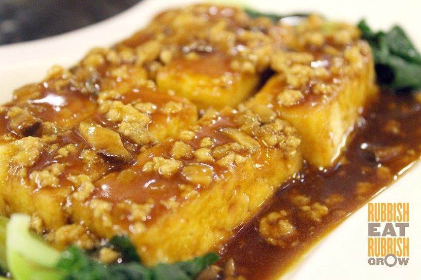 tien garden - tofu with minced pork