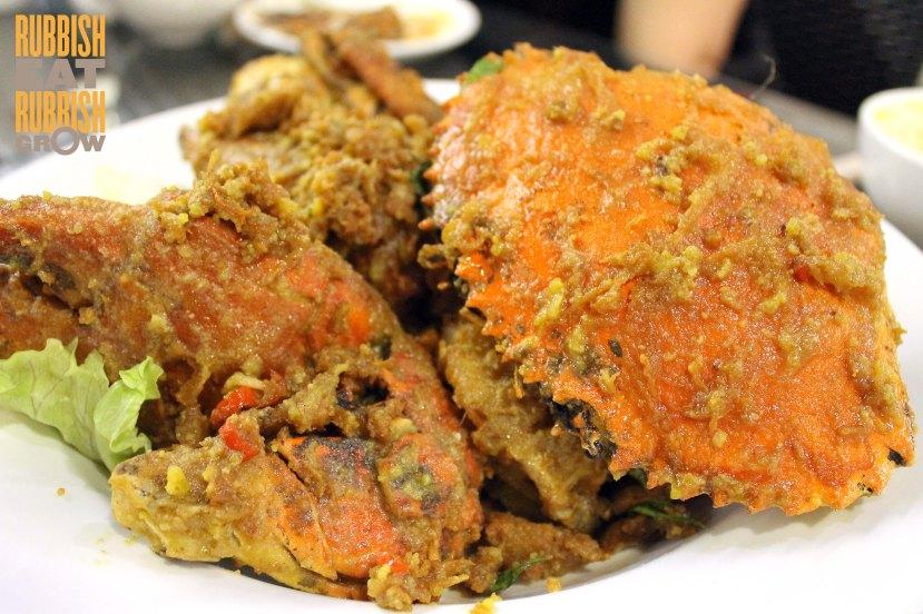 tien garden - salted egg crab