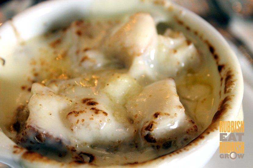 Jewel Cafe - French onion soup
