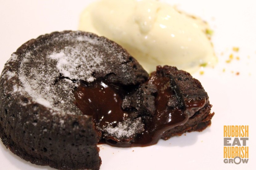 RECIPES - Fondant au chocolat