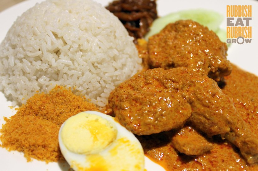 Madam Kwan - Nasi Lemak and Curry Chicken