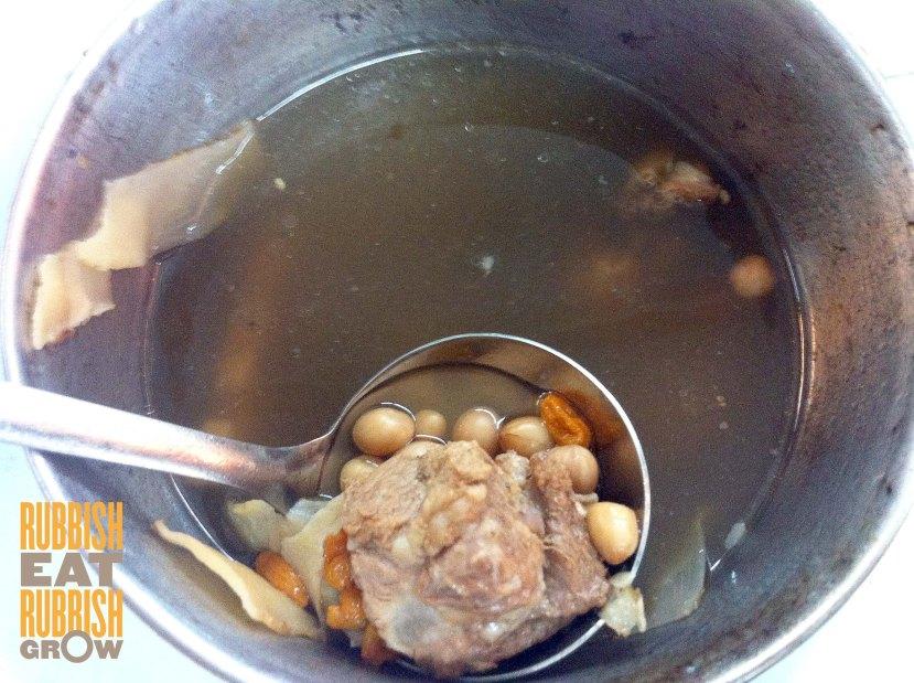 peanut pork rib soup