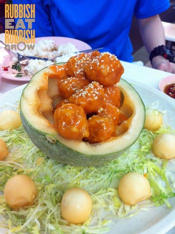melon prawn