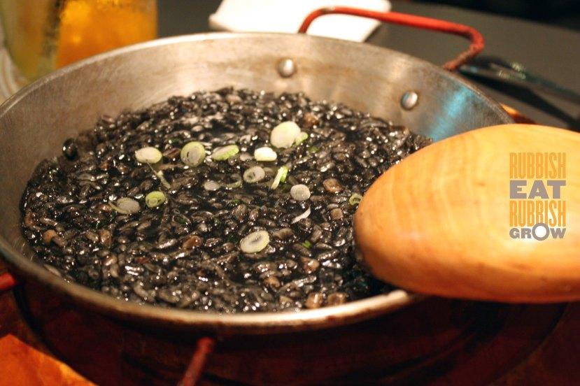 Bomba - arroz negro