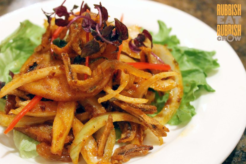 Ah Hoi's Kitchen - Spicy Ikan Bilis Salad
