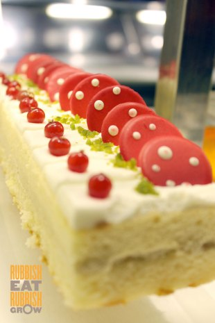 The Line - Durian Cake