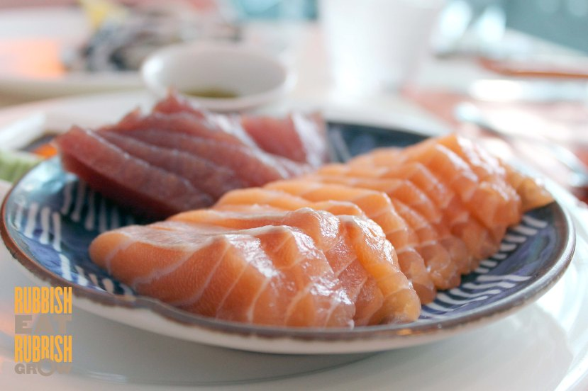 The Line Buffet Menu - Sashimi