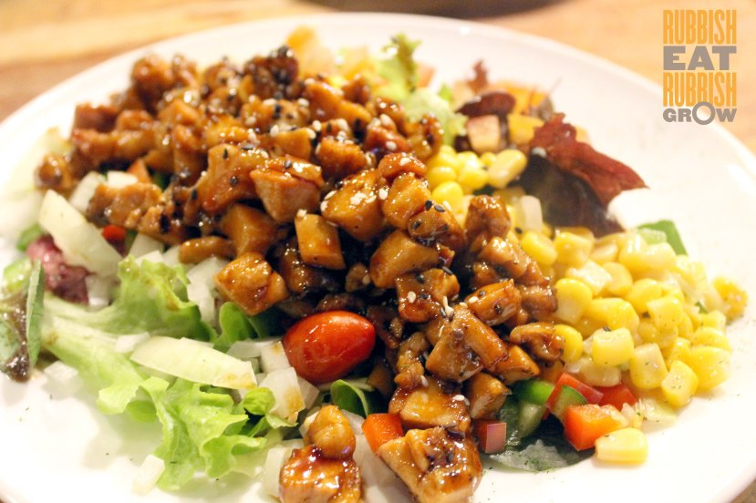 king louis grill & bar - Teriyaki Chicken Salad