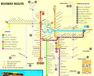 bus routes in jakarta