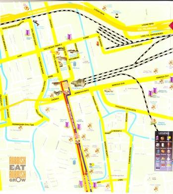 north jakarta map
