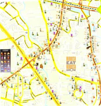 South Jakarta map