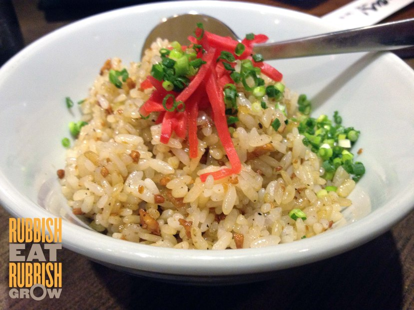 Kazu Singapore - Garlic Fried Rice