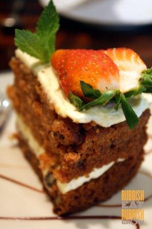 Bedrock Grill - Carrot Cake
