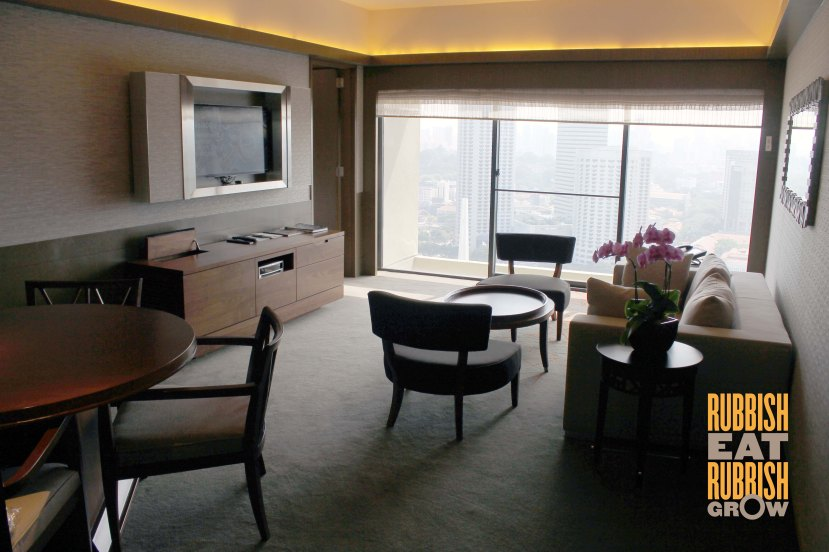 Pan Pacific Singapore - Skyline Suite