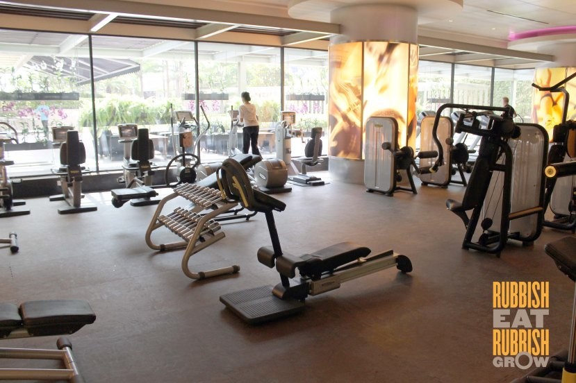 Pan Pacific Singapore Gym