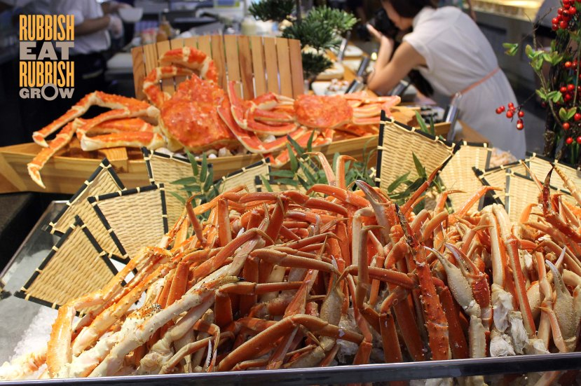 Todai menu - red crab