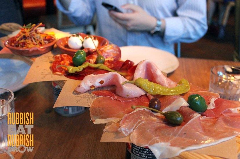 Jamie's Italian Singapore - Meat Plank
