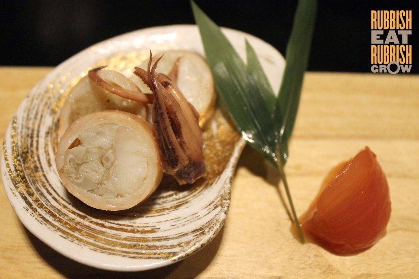 Mikuni Restaurant - Squid & Kyushu Tomato