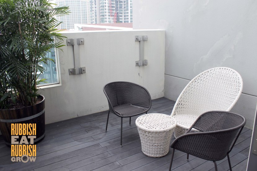 Studio M Hotel Review - Patio