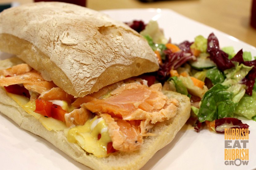 Seared Salmon Sandwich