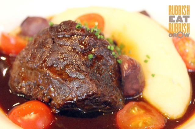 Bull & Butcher Dhoby Ghaut - Beef Cheeks