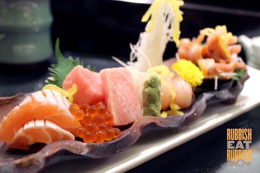 Hinoki sg - Sashimi