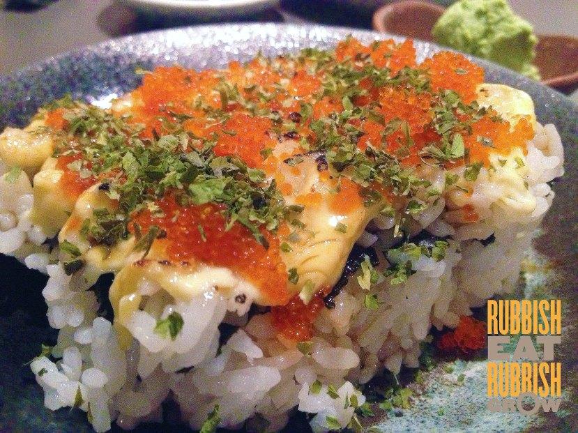 Kaiho Sushi restaurant Singapore - Aburi California Maki