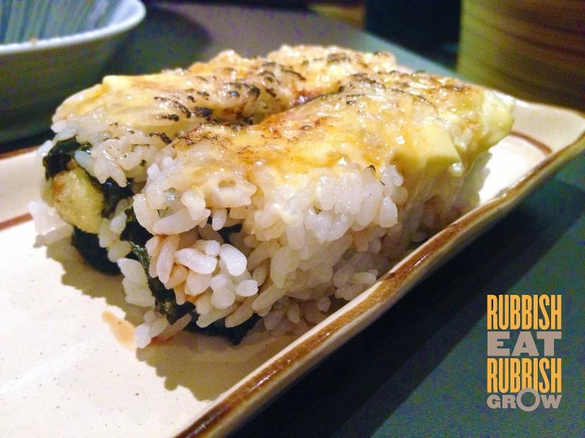 Kaiho Sushi - Aburi Ebi Tempura maki