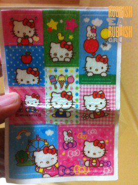 hello kitty mosquito patch