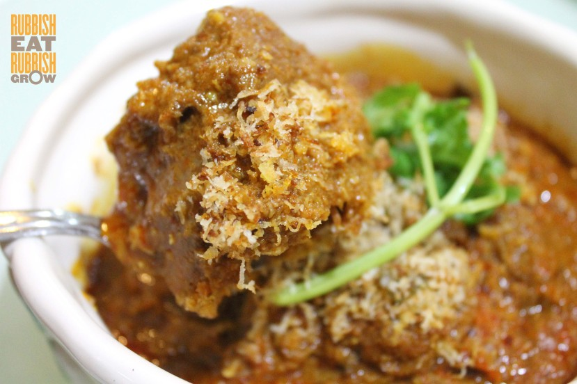 Brooklyn Art Cafe SIngapore - beef rendang