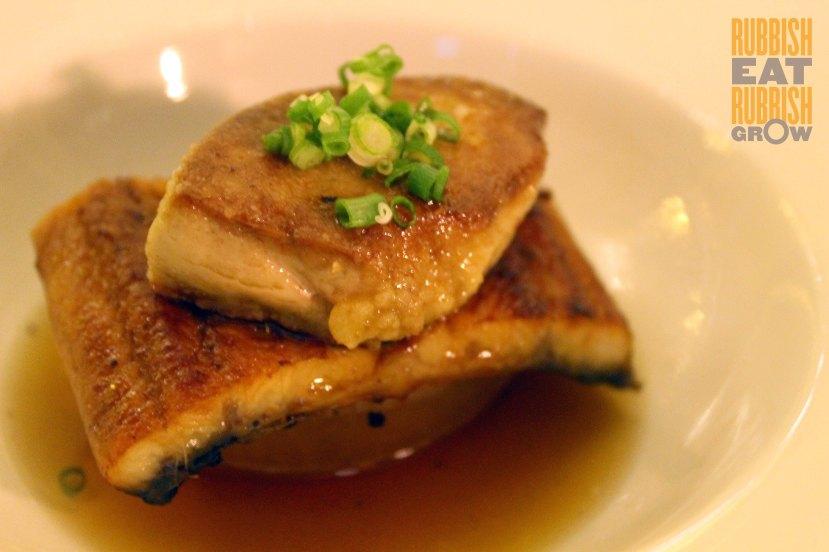 Me@OUE price - foie gras & eel