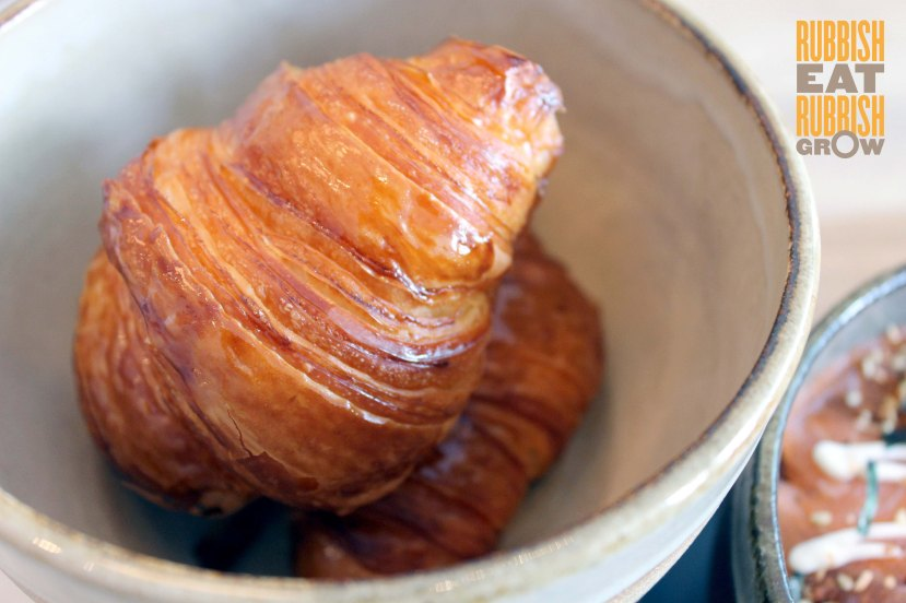 Complements of Cafe Little India - Croissant