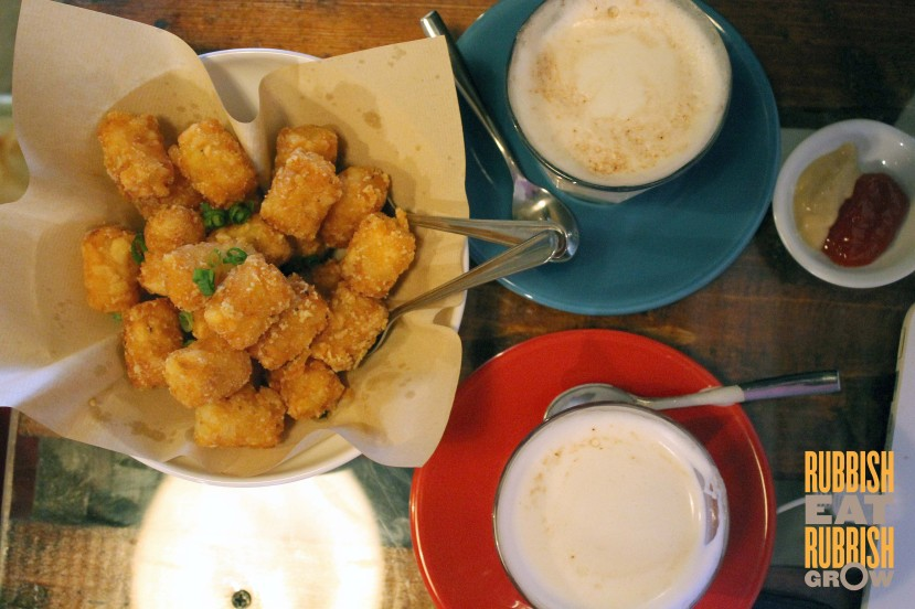 Working Title Cafe Kampong Glam - Truffle Tater Tots