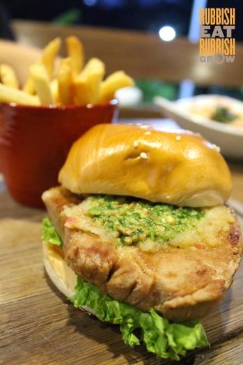 Grub Sg - pork steak burger