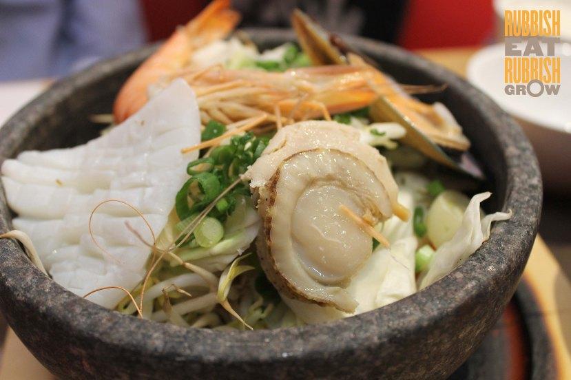 Tonkotsu Kazan Ramen Singapore - Seafood