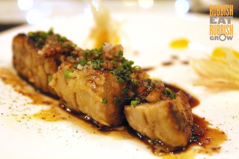 Izy Omakase - foie gras