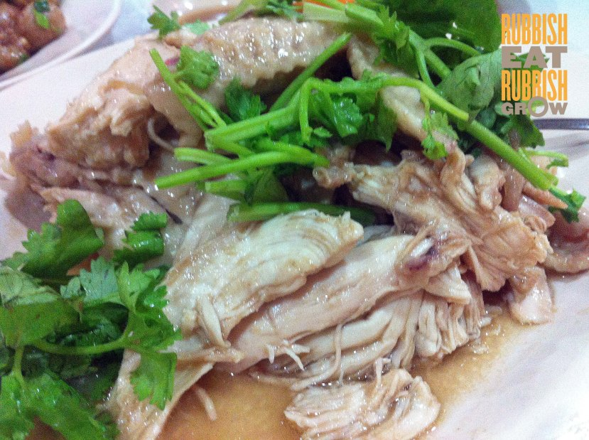 Plum Village SG - salted chicken 东江盐鸡